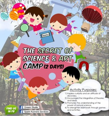 The Secret of Science and Art Camp