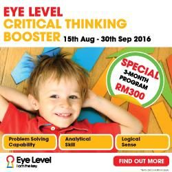 Eye Level Critical Thinking Booster