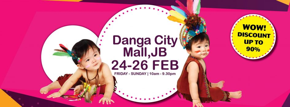 Today's Baby Expo 2017 - Danga City Mall, JB