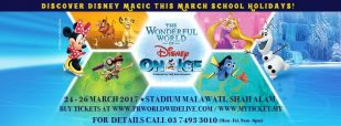 The Wonderful World of Disney On Ice Live In Shah Alam