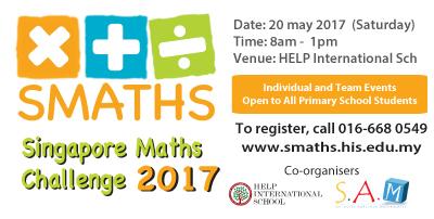 Singaore Math Challenge 2017