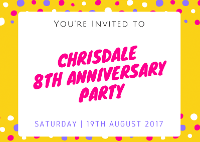 Chrisdale Kindergarten 8th Anniversary Party