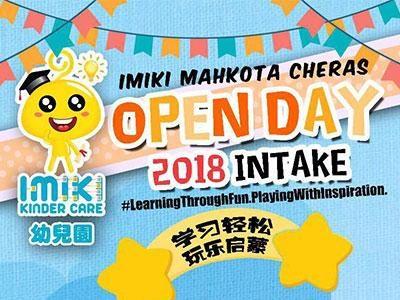 Imiki Kinder Care Mahkota Cheras Open Day