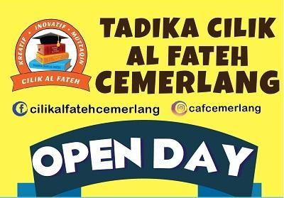 Tadika Cilik Al Fateh Cemerlang Open Day