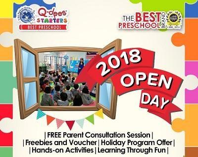 Open Day at Qdees Sri Manja (Tadika Pelajar Aktif)