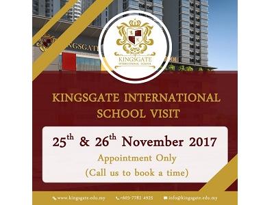 Kingsgate International School Visit