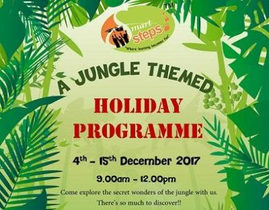 Smart Steps A Jungle Themed Holiday Programme