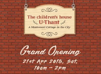 Grand Opening - The Children's House, U-Thant, Ampang