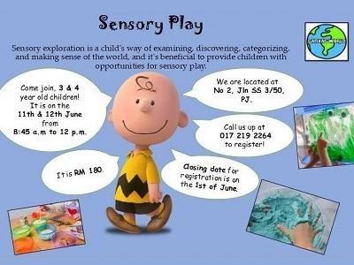 Sensory Play @ Canvas World, Petaling Jaya