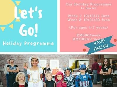 Kinderia School Holiday Programme