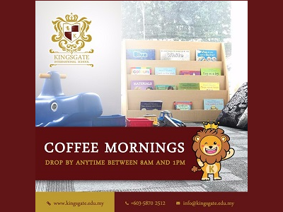 Kingsgate International School Coffee Mornings (Open Day)