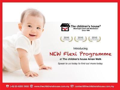 New Flexi Programme at TCH Aman Walk