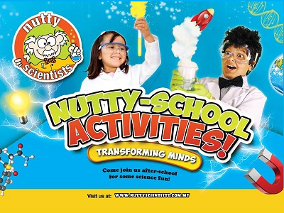Nutty Scientist at Alpha Academy