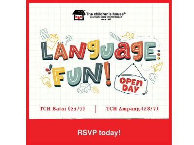 The children's house Language Fun Open Day