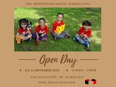 LMC Montessori House's Open Day
