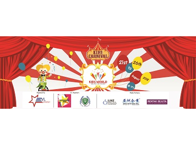 Carnival Themed Kids Roadshow by Kids World Malaysia