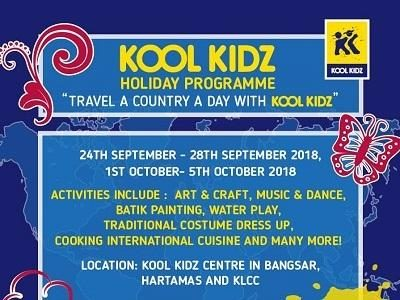 Travel A Country A Day with KOOL KIDZ