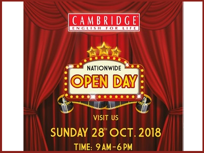 Cambridge English for Life Kota Damansara Open Day
