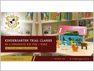 Kingsgate Kindergarten Trial Class
