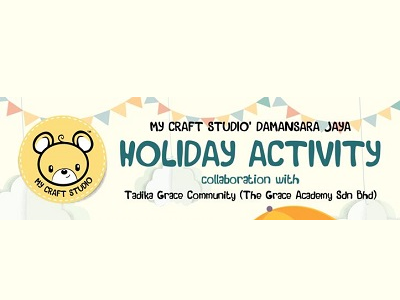 My Craft Studio Damansara Jaya & Tadika Grace Community Holiday Program