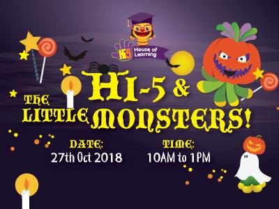 HI-5 HOUSE OF LEARNING HALLOWEEN