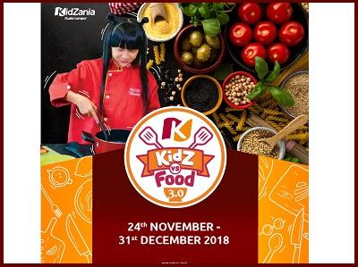 Kidzania KidZ VS Food 3.0