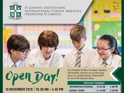 Open Day @ St Joseph's Institution International School