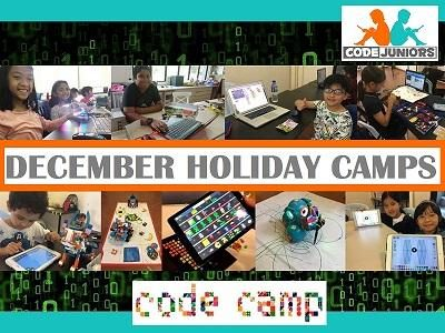 CodeJuniors - December 2018 Holiday Camps