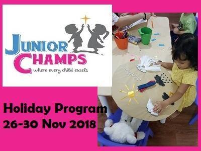 Junior Champs Holiday Program