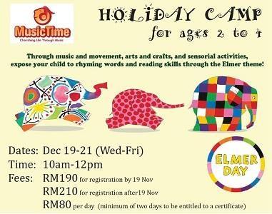 Holiday Camp @ MusicTime, USJ Subang Jaya