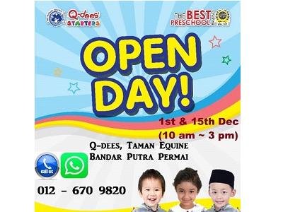 Q-dees Bandar Putra Permai's Open Day