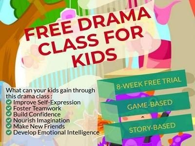 eBright Learning Centre Free Drama Class for Kids