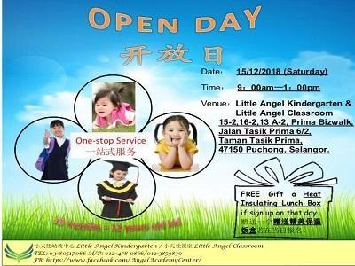 Little Angel Kindergarten Open Day