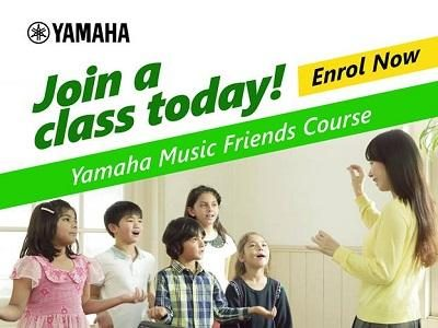 Yamaha Music Friends Course at Victoriashire International Preschool