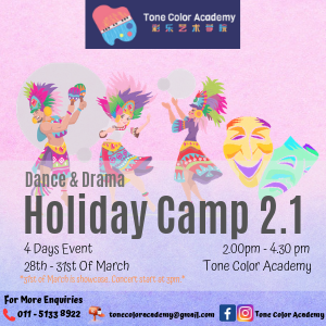 Tone Color Academy Dance & Drama Holiday Camp 2.1