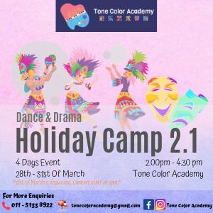 Tone Color Academy Dance & Drama Holiday Camp 2.1