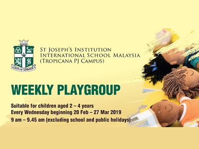 Weekly Playgroup at St Joseph Institution International School