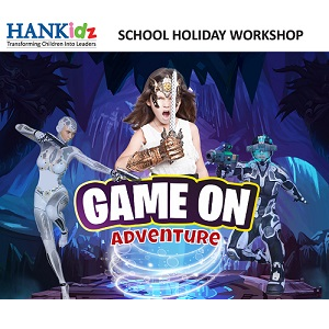 HANKidz Game On Adventure School Holiday Workshop