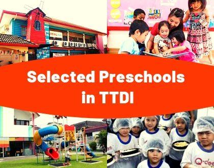 Selected Preschools in TTDI