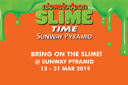 Sunway Pyramid Nickelodeon Slime Time