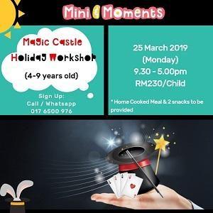 Mini & Moments Magic Castle Workshop