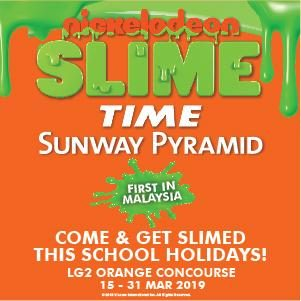 Nickelodeon Slime Time at Sunway Pyramid