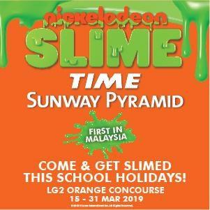 Nickelodeon Slime Time at Sunway Pyramid