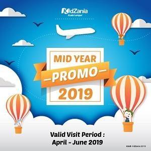 Kidzania Mid Year Promo 2019