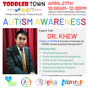 Autism Speaks, It's time to listen! - Expert Talk with Dr Khew