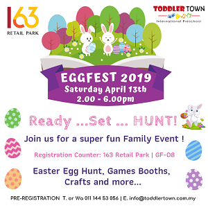 EGGFEST 2019 - Ready... Set.. Hunt!