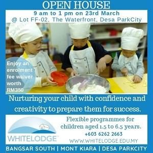Open Day @ White Lodge Child Care Centre, Desa ParkCity