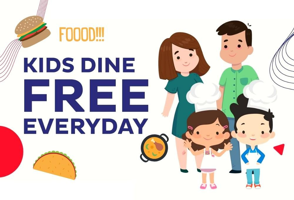 Restaurants Where Kids Can Eat for Free in Klang Valley