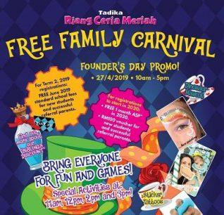 Tadika Riang Ceria Meriah - Free Family Carnival