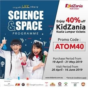 Science and Space Programme @ KidZania
